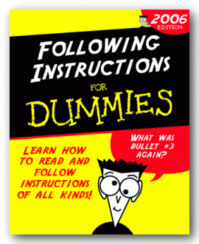 InstructionsForDummies