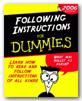 InstructionsForDummies